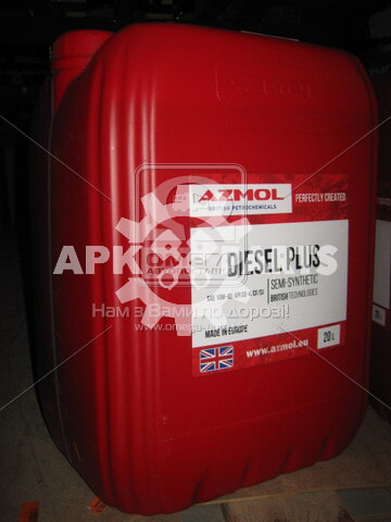 Масло моторн. AZMOL Diesel Plus 10W-40 LONG LIFE (Бочка 20л)