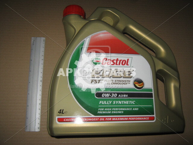 Масло моторн. Castrol EDGE 0W-30 A3/B4 (Канистра 4л)